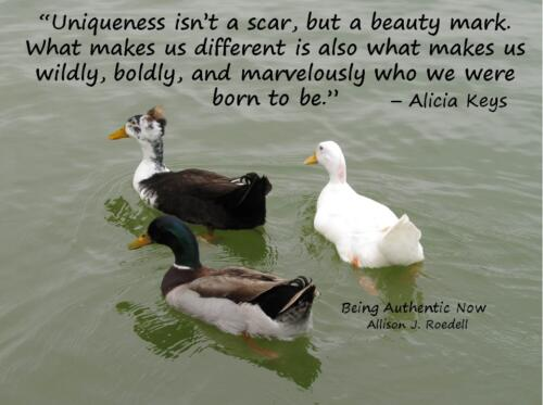 Uniqueness Beauty