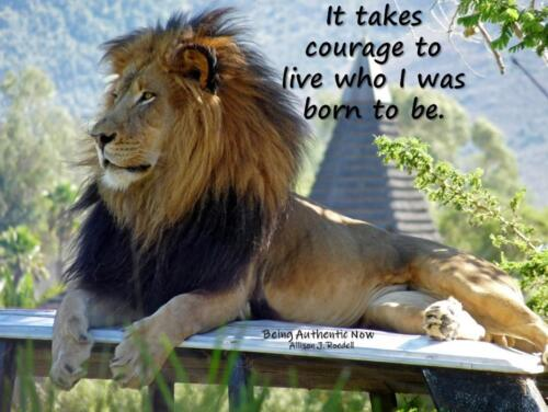 Courage to Be Myself